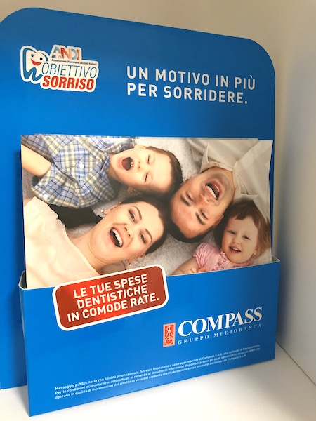 Compass pagare in comode rate