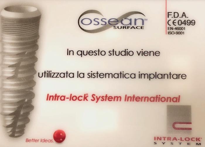 Sistema implantare Blossom Intra.Lock