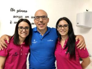 Dentista Orazio Cicero e il suo team a Rosolini